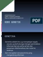 KODE GENETIK