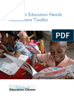 Joint Education Needs Assessment Toolkit