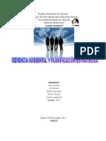 MONOGRAFIA+GERENCIA+AMBIENTAL+Y+PLANIFICACION+ESTRATEGICA.doc