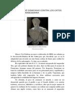 La Campaña de Domiciano Contra Los Catos