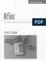 Orion Mind Machine User Guide