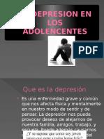 La Depresion en Los Adolencentes