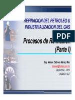 P1 1006 Procesos de Refinacion Parte I