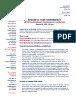julia - northwestern rural ldc coaching report  - oct 11 2016
