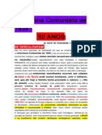Intentona Comunista de 1935, 80 Anos Passaram e Eles Nao Se Desculparam