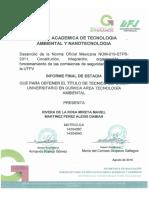 Desarrollo de La Norma Oficial Mexican Nom-019-Stps-2011
