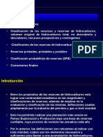 C DEF. Y CLASIF. DE RECURSOS PETROLEROS Y RESERVAS.ppt
