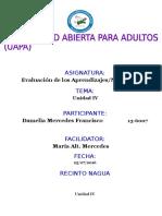 TAREA IV EVALUACION DE LOS APRENDIZAJE DAMELIA MERCEDES.docx