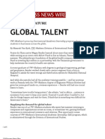 Global Talent (UW Business News Wire)