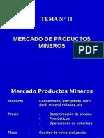 11. Mercado Productos Mineros
