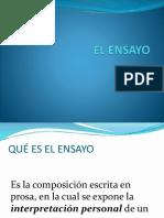 EL ENSAYO 4-1