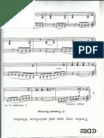 Estudio para piano