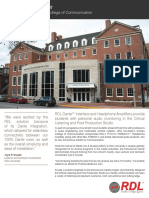 RDL Install Story Ohio University Schoonover Nb