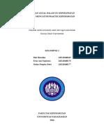 Aturan Legal Di Dalam UU Keperawatan Yang Mengatur Praktik Keperawatan