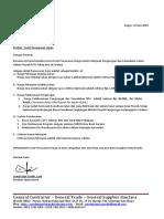 Surat Penawaran Pengurugan PLTU Revisi 21Juni