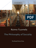 The Philosophy of Sociality-The Shared Point of View