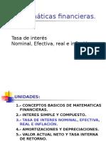 Tasa de Interes Nominal Efectiva Real (2)