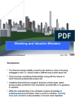 Valuation and Modelling Mistakes