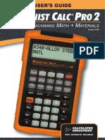 Machinist Calc Pro 2UG4088E-B
