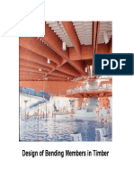 Structural Design of Timber Beams With Modification Factors