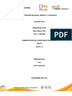 ADMINISTRACION DE INVENTARIOS ACTIVIDAD 1