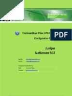 Juniper Netscreen NS 5GT Series & GreenBow IPSec VPN Client Software Configuration