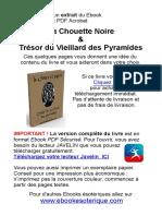 Extrait Chouette Noire