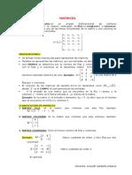 08. Matrices Teoría