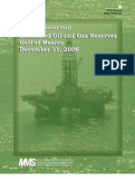 Estimated Oil & Gas Reserves - Gulf of Mexico - December 31, 2006 (MMS)