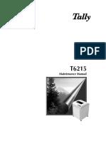 T6215 Maint. Manual