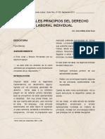 Prinipios Generales Derecho Laboral