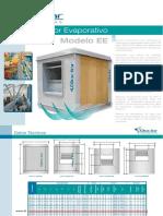 Enfriadores Evaporativos Modelo Ee 2014