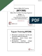 MTCRE RouterCOid Agutustus 2016 Full