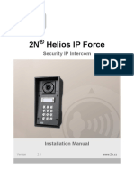 2N Helios IP Force Installation Manual en 2.4
