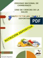 NUTRICION Deportiva Grupo 6