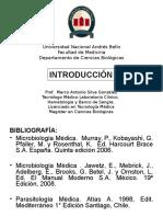 1 y 2 Introduccion Microbiologia UNAB 2013