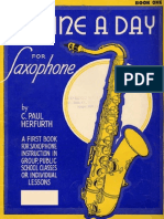 A Tune a Day Saxophone Course