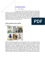 Contoh Lawatan Galeri Artis