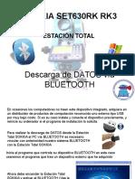 Descarga de Datos Vía Bluetooth