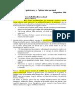 """Resumen """"Teoría y práctica de la Política Internacional"""", Morgenthau"""
