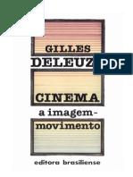 Cinema 1 a Imagem Movimento