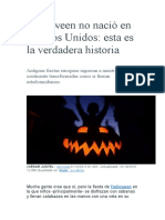 Halloween No Nació en Estados Unidos