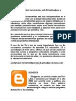 reportaje sobre herramientas web 2