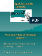 Modling of Personality Patterns