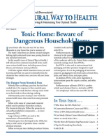 Dr. David Brownstein's Natural Way to Health 2016-08 Toxic Home - Beware of Dangerous Household Items