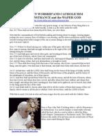 PAGAN SUN WORSHIP AND CATHOLICISM