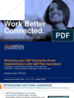 1343 Renewing Your SAP Enterprise Portal With SAP Fiori Launchpad