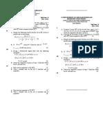 Second Series Exam DSP