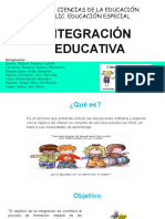 Integracion Educativa. Pp