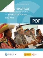 Buenas prácticas de la cooperación española con pueblos indígenas 2007-2013